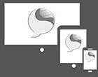 Página web con diseño Responsive adaptada a los dispositivos móviles